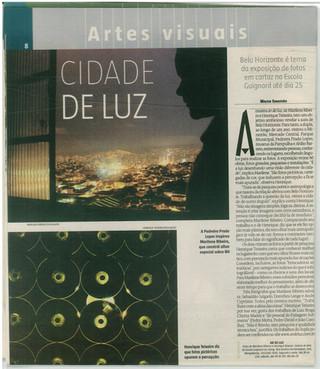 Ar de Luz 2007 - Estado de Minas