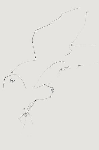 Nude#36_2019_pen on paper_14.8x21.0cm.jp