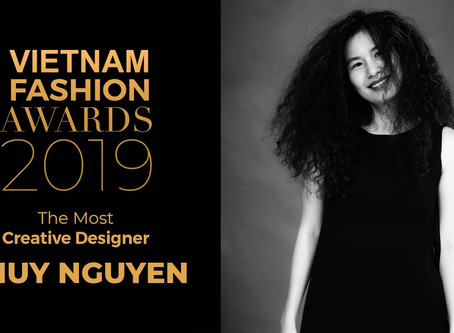 "Vietnam Fashion Awards: Thuỷ Nguyễn received ""The Most Creative Designer"" award"