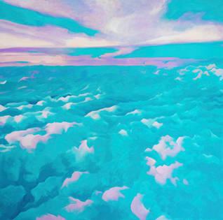 cloud river