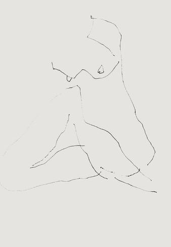Nude#26_2019_pen on paper_14.8x21.0cm.jp