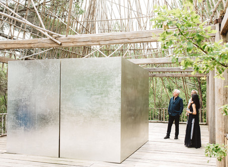 A Vietnamese contemporary artist brings the Rông House of North of Central Highlands to France.