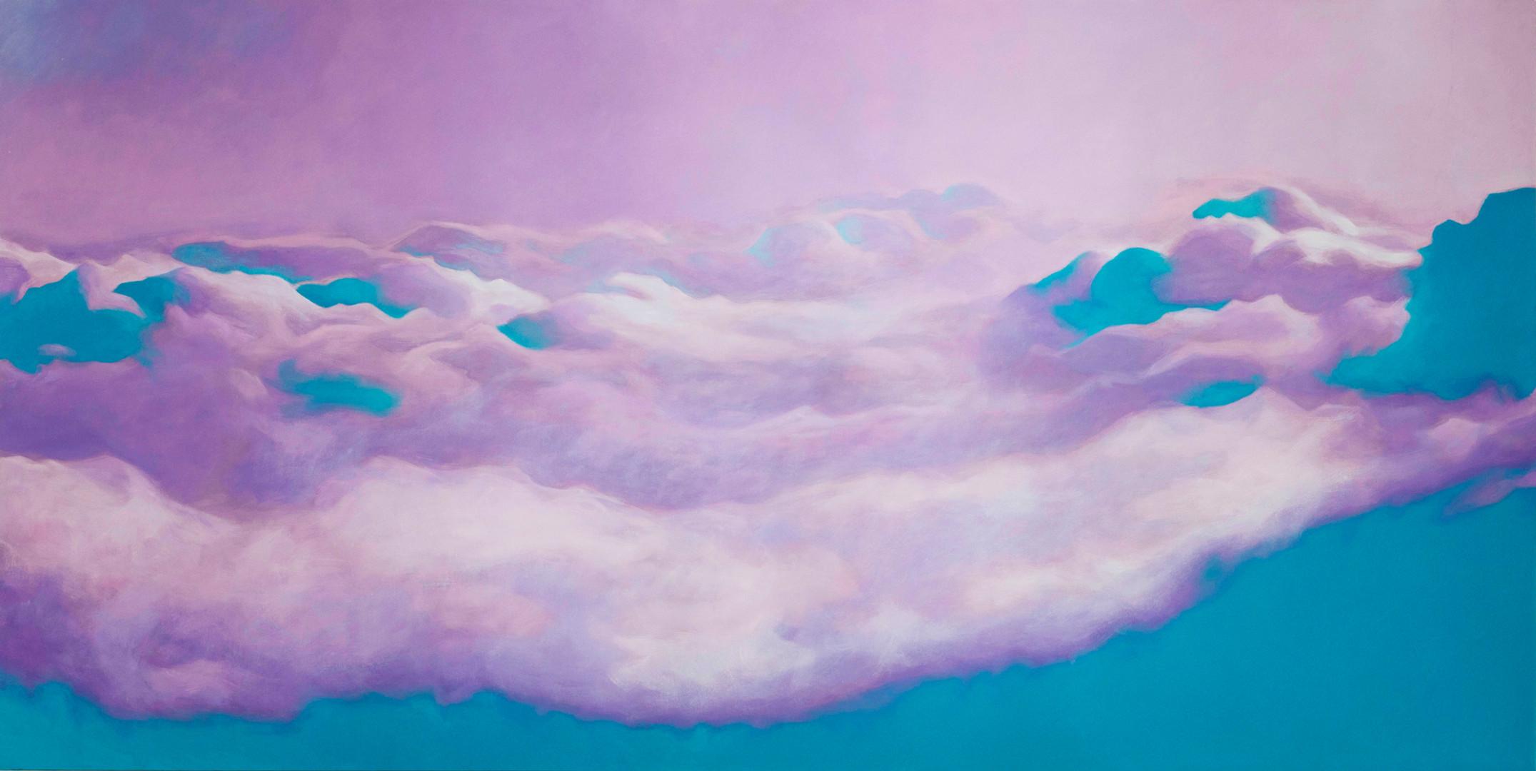 Lilac Sky #4_2019_oil on canvas_100 x 20