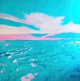 Milky Way_2019_oil on canvas_160 x 160cm
