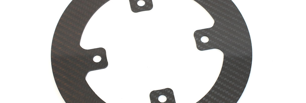 Carbon chain guard (For 12/72 version)