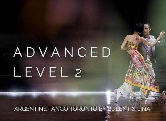 Advanced Tango Level 2 | Class 1