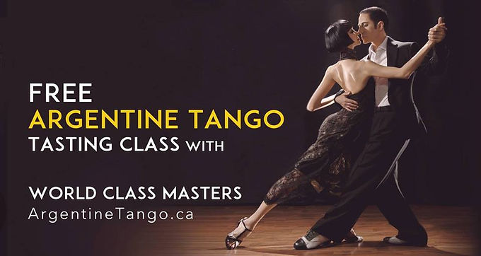 FREE ★ Tango Classes with World Class Master   Toronto Tango Events