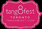 TORONTO TANGO 8 FESTIVAL . 18 - 22 NOVEMBER 2015. TORONTO