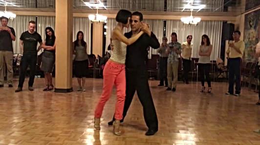 Tango Lesson | Bulent Karabagli & Lina Chan | Tango Figures for Rhythmic Music