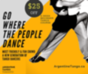 Toronto Tango Lessons | $25 Discount for Beginner Tango Classes