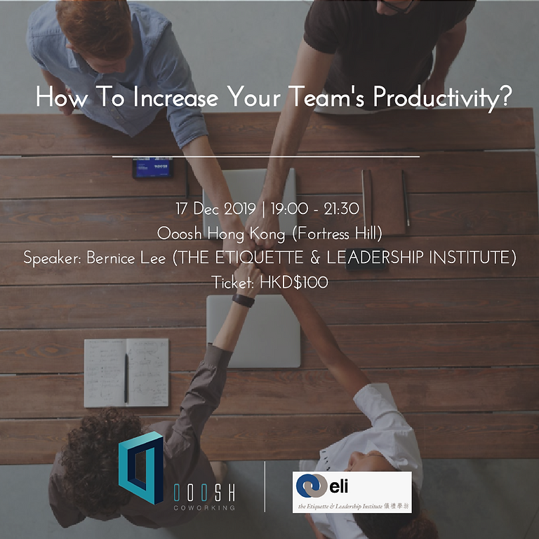 How to increase your team's productivity?