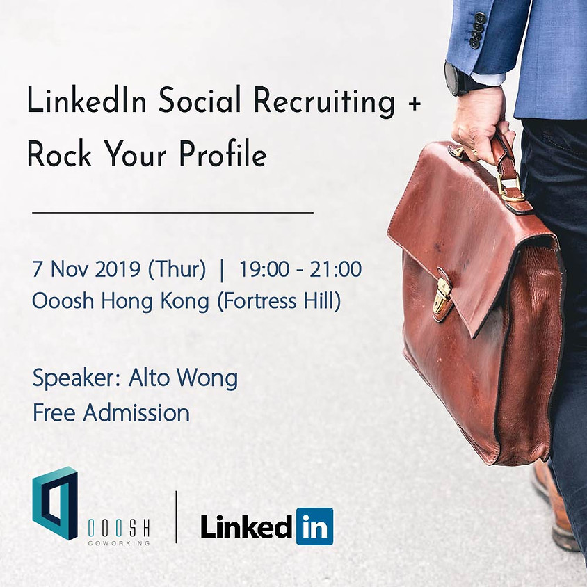 LinkedIn Social Recruiting + Rock Your Profile