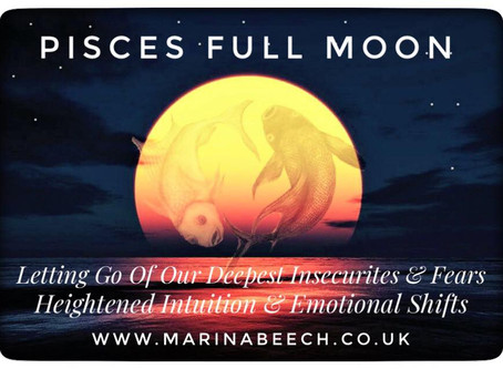 Pisces  Full Moon ♓️ - Wednesday 2nd September 6.22 UK Time