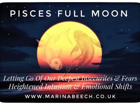 Pisces  Full Moon ♓️ - Wednesday 2nd September 6.22 UK Time