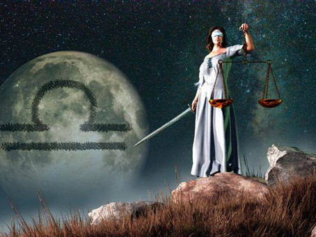 Libra Full Moon - Wednesday 8th 3.35am UK Time