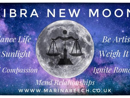 New Moon in Libra ♎️ 16.10.20 - 20.31 U.K.