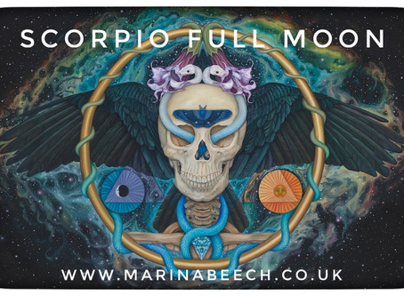 Scorpio Full Moon - Thursday 7th 11.45 UK Time ♏️