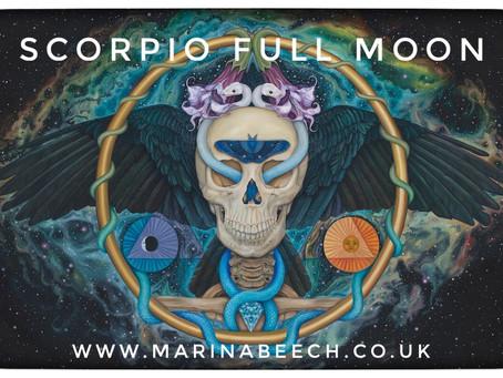 Scorpio Full Moon - Thursday 7th 11.45 UK Time ♏️