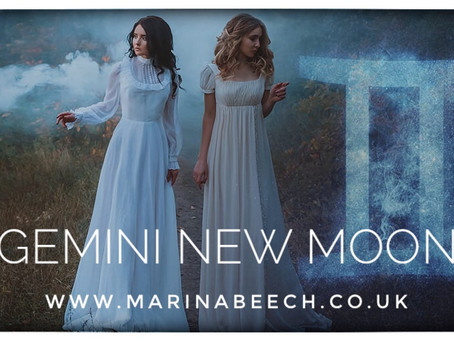 New Moon in Gemini ♊️ 22.05.20 - 18.38 U.K.
