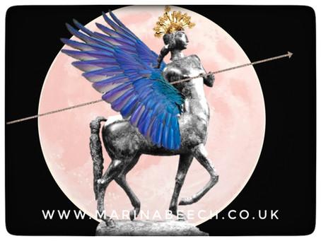 Sagittarius ♐️ Full Moon - Friday 5th 20.12 UK Time