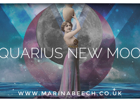 New Moon in Aquarius ♒️ 24.01.20 - 21.41 U.K.