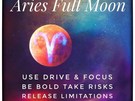 Aries Full Moon ♈️ - Thursday 1st Oct 22.05 U.K. Time