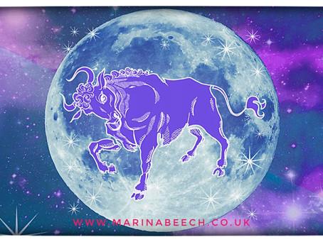 Taurus Full Moon ♉️ - Saturday 31st 11.49am UK Time