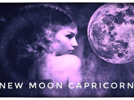 Capricorn New Moon  ♑️ Wednesday 13th 2021 - 5.00 GMT
