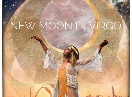 New Moon in Virgo ♍️ 17.09.20 - 12.00 U.K.