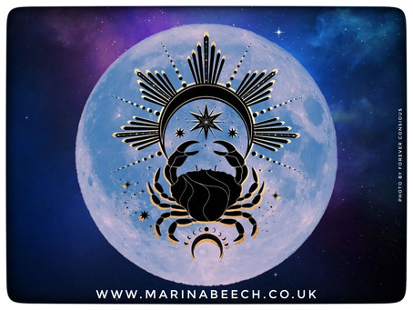 Cancer Full Moon ♋️ Wednesday 30th - 03.28 UK Time