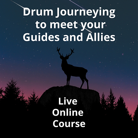 Drum Journeying to meet your Guides and