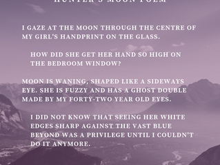 Hunter's Moon Poem