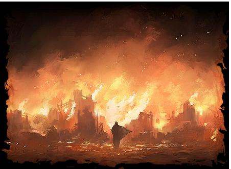 Fire in Skullport