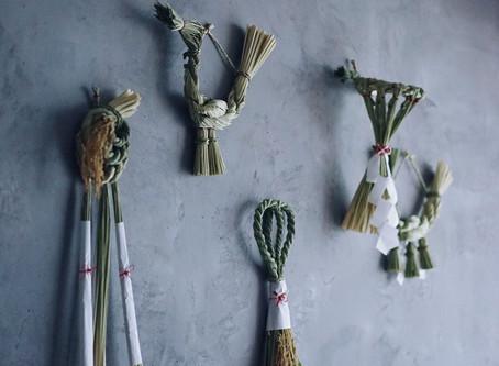 【商品入荷】榊麻美植物研究所 しめ飾り