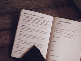 ニュージーランドからのチョコレートノート