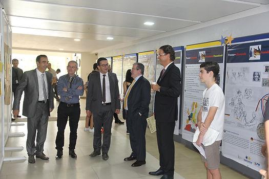 Elysee Treaty Exhibition at the Germa European School Manila