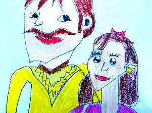 Young language learners summarize German fairy tale