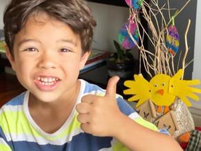 Hugo und die Farben – Ostern im Kindergarten