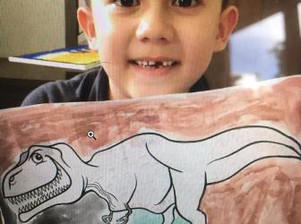 1st Graders Tackle Dinosaurs