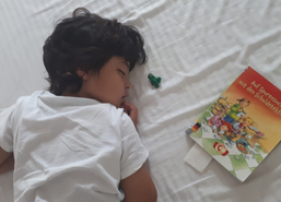 How Reading Books Helped My Son Enjoy the First Grade (Before and During Pandemic)