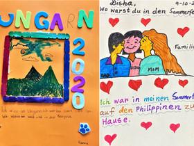 3rd Graders' Creative Posters in German