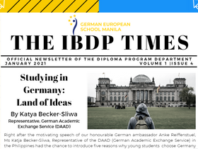 The IBDP Times, Vol. 1, Issue 4
