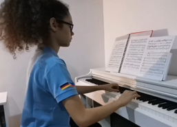 9th Grader's Piano Recital