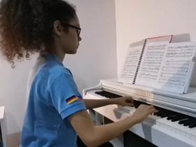 9th Grader's Piano Recital