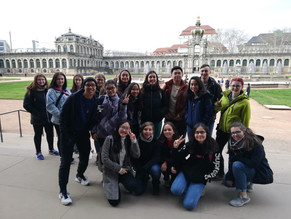 Maria and Isabella's Report on the visit to Dresden