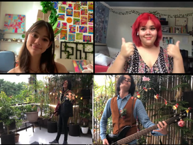 Music videos by students, teachers & staff