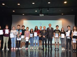 The German European School Manila  Awarding ceremonies for DSD 1 and IGCSE
