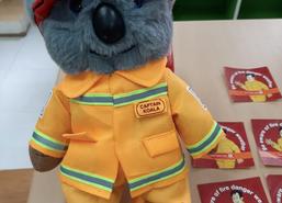 Captain Koala arrives from Australia