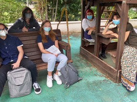 Prüfungen zu den Mittleren Schulabschlüssen auf dem Campus durchgeführt