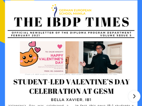 The IB Times - Vol. 1, Issue 5
